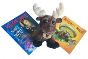 Book and Toy Set- Maddox's Moose Books & Jake Stuffed Toy